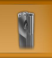 Single flute gundrill